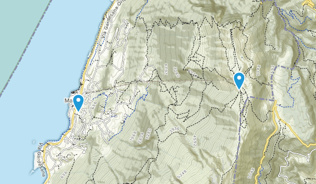 Malcesine, Veneto Map