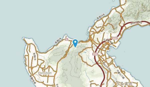 国頭郡, 沖縄県 Map