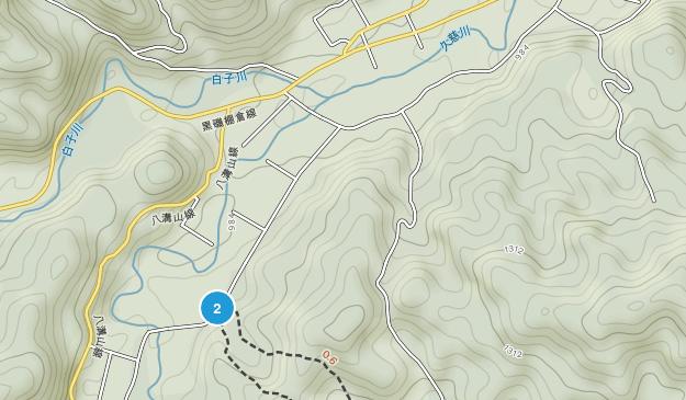 東白川郡, 福島県 Map