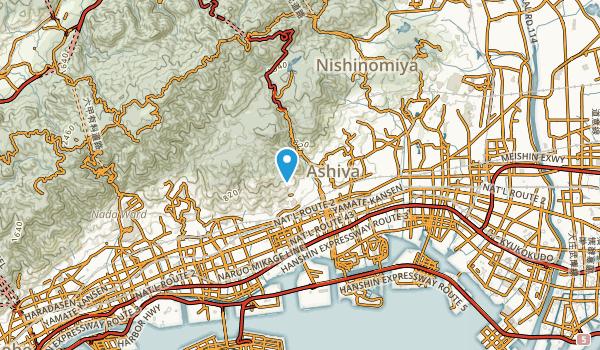 Higashiashiyachō, Hyōgo Map
