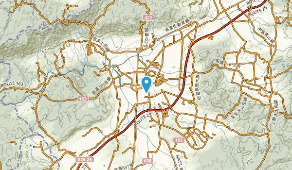 Ueno-higashimachi, Mie Map