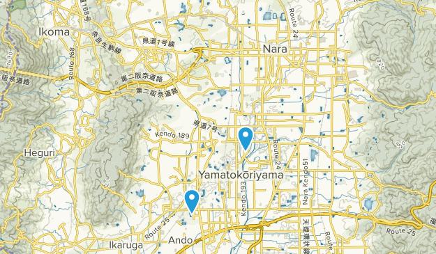 Takadachō, Nara Map