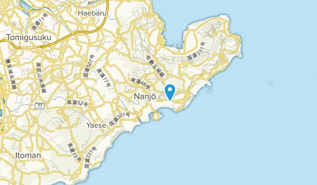 Nanjo, Okinawa Map