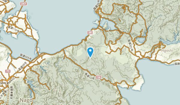 Ogimi Son, Okinawa Map