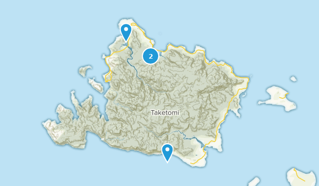 Yaeyama, Okinawa Map