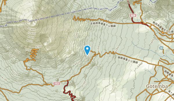 Gotenba Shi, Shizuoka Map