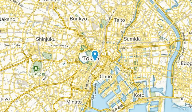 Ōtemachi, Tokyo Map