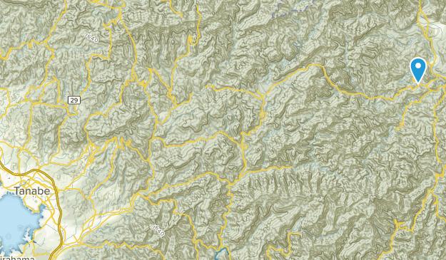 Tanabe Shi, Wakayama Map
