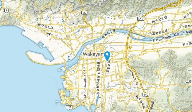 Wakayama-shi, Wakayama Map