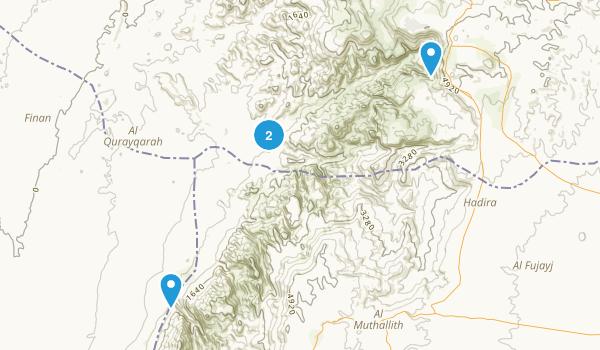 Dana, Jordan Map