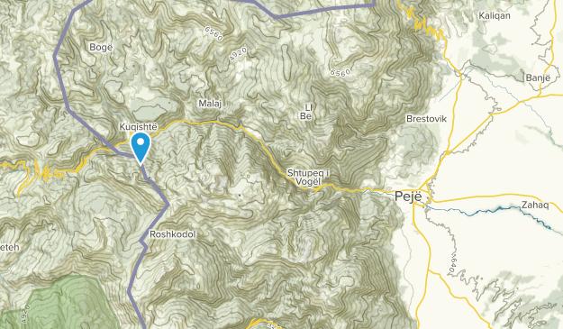 Peja Kosovo Karte.Beste Wege In Der Nähe Von Peja Peć Kosovo Alltrails