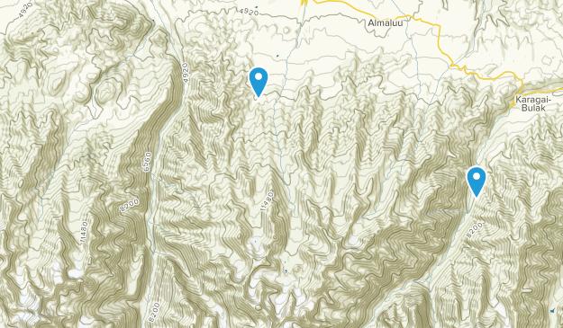 Ysyk-Ata, Chuy Map