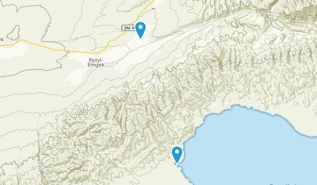 Jumgal, Naryn Map