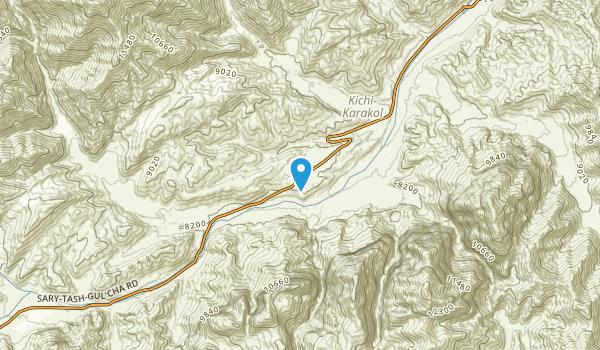 Alai, Osh Map