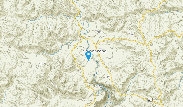 Semonkong Community, Maseru Map