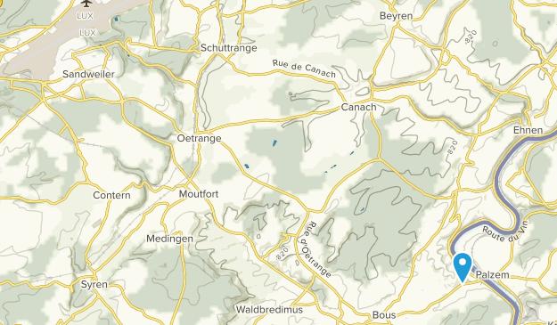 Luxembourg City, Luxemburg Map