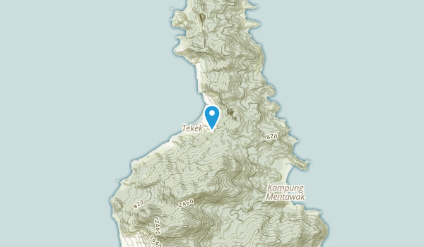 Mersing, Johor Map