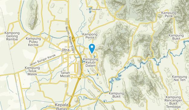Jitra, Kedah Map