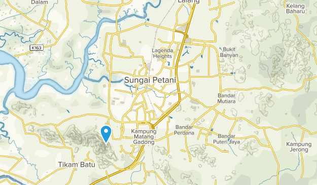 Sungai Petani, Kedah Map