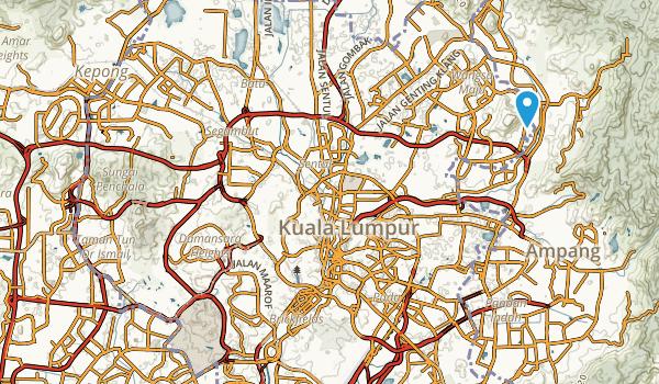 Kuala Lumpur, Kuala Lumpur Map