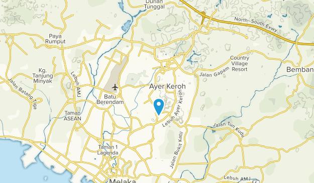 Ayer Keroh, Melaka Map