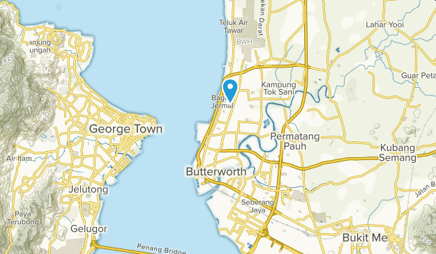 Butterworth, Pulau Pinang Map