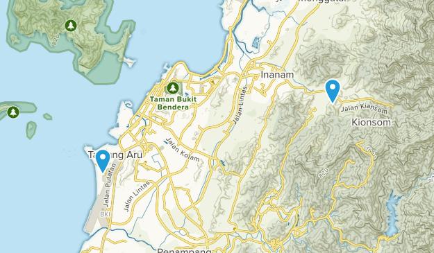 Kota Kinabalu, Sabah Map