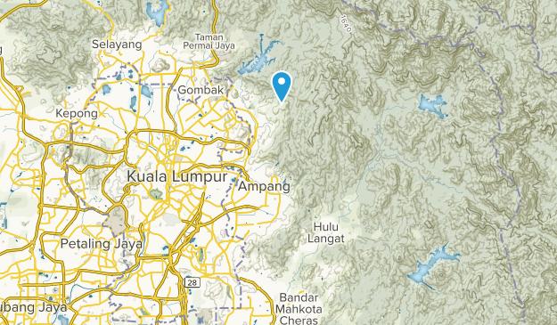 Ampang, Selangor Map
