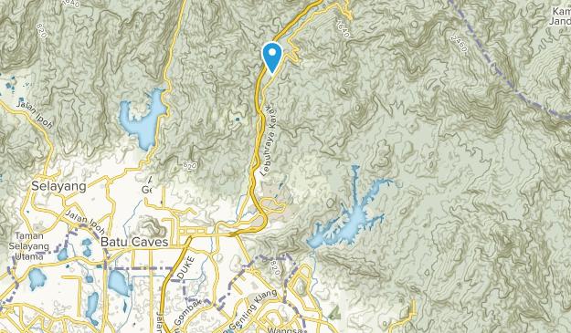 Gombak, Selangor Map
