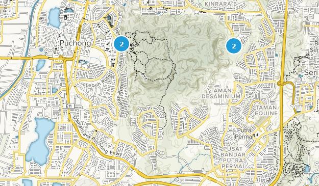 Puchong, Selangor Map
