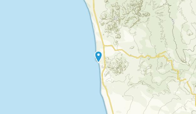 Boca del Refugio, Baja California Sur Map
