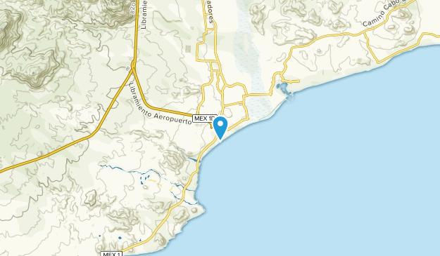 El Ejido, Baja California Sur Map