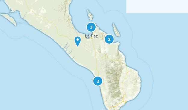 Baja California Map Mexico.Best Trails Near La Paz Baja California Sur Mexico Alltrails