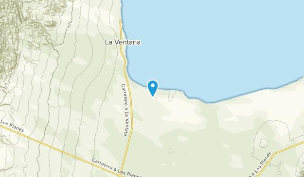 La Ventana, Baja California Sur Map