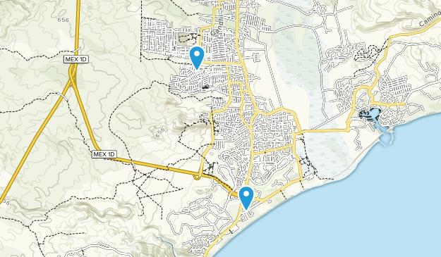 San Jose Del Cabo Mexico Map.Best Trails Near San Jose Del Cabo Baja California Sur Mexico