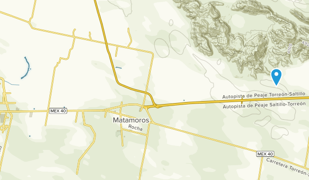Matamoros, Coahuila de Zaragoza Map