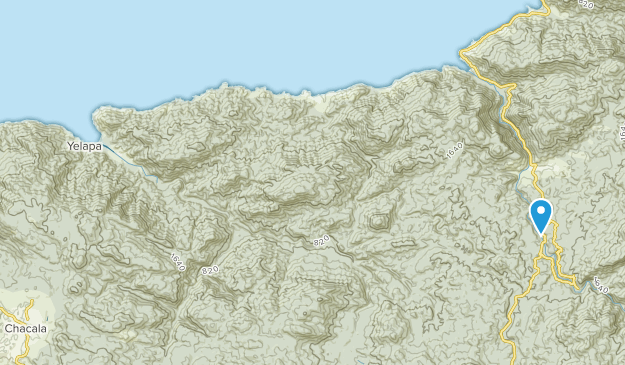 Cabo Corrientes, Jalisco Map