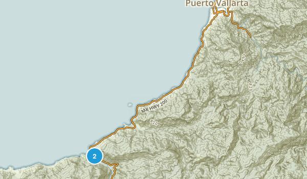 Puerto Vallarta, Jalisco Map