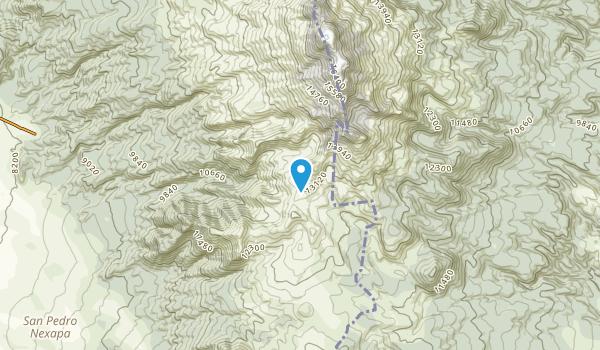 Amecameca, Mл╘xico Map