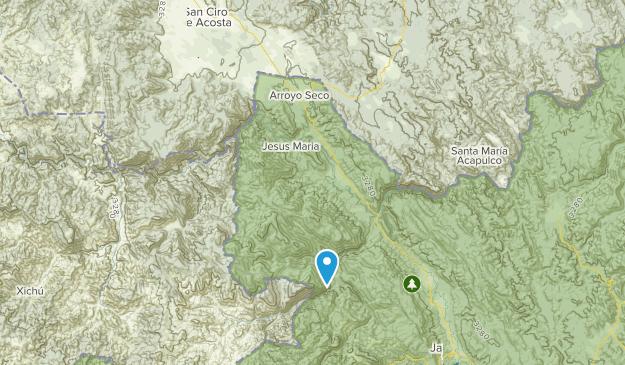 Arroyo Seco, Querétaro Map