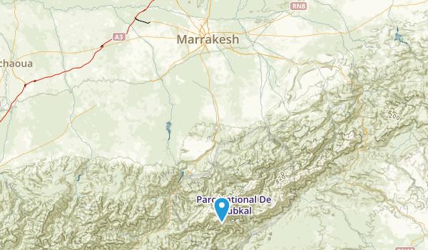 Menara, Marrakech - Tensift - Al Haouz Map