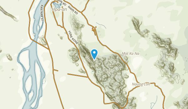 Yathahlaik, Kayin Map