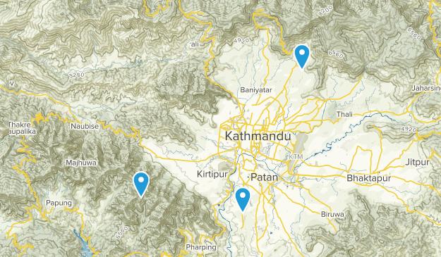 Magargaun, Bagmati Map