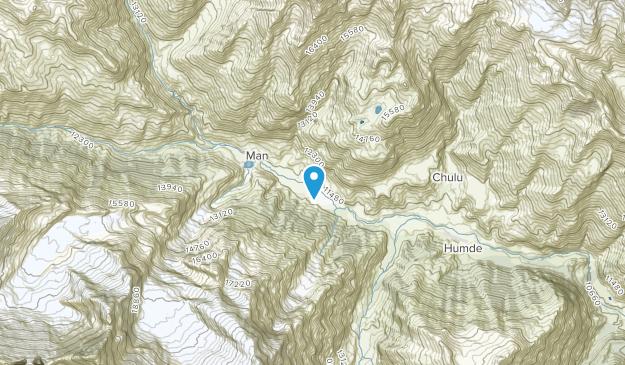 Braga, Gandaki Map