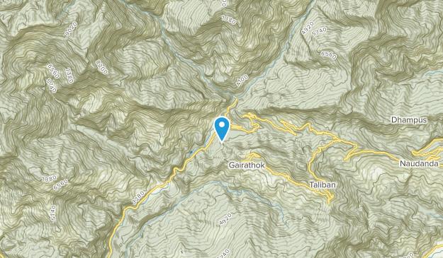 Nayapul, Gandaki Map