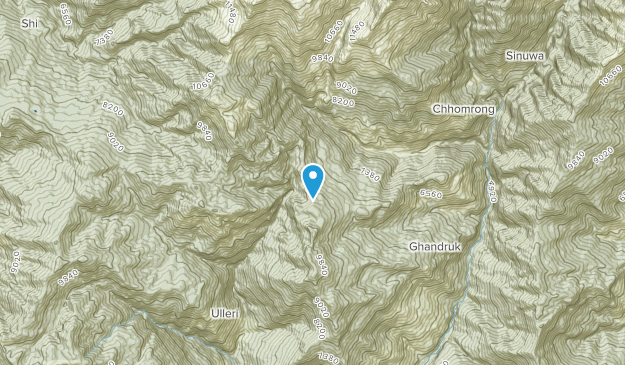 Liuikharka, Gandaki Pradesh Map