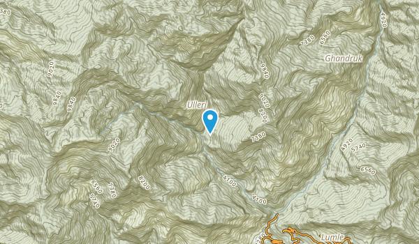 Tikhedhunga, Gandaki Map