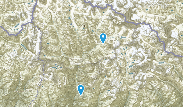 Solukhumbu, Sagarmatha Map