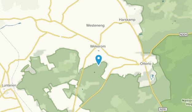 Wekerom, Gelderland Map
