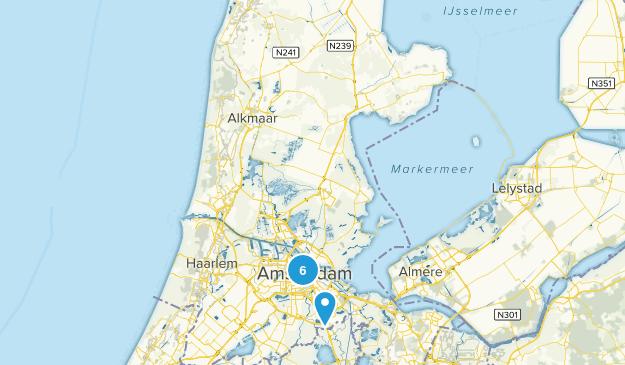 Binnenstad, Noord-Holland Map